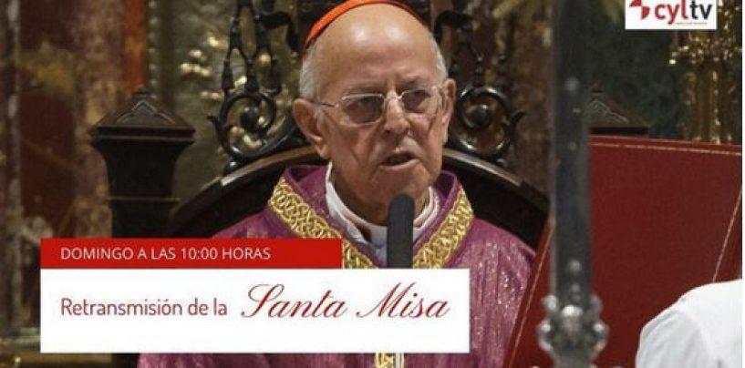 TVCyL retrasmite, mañana a las 10h., la Misa de Domingo de Ramos, presidida por D Ricardo Blázquez