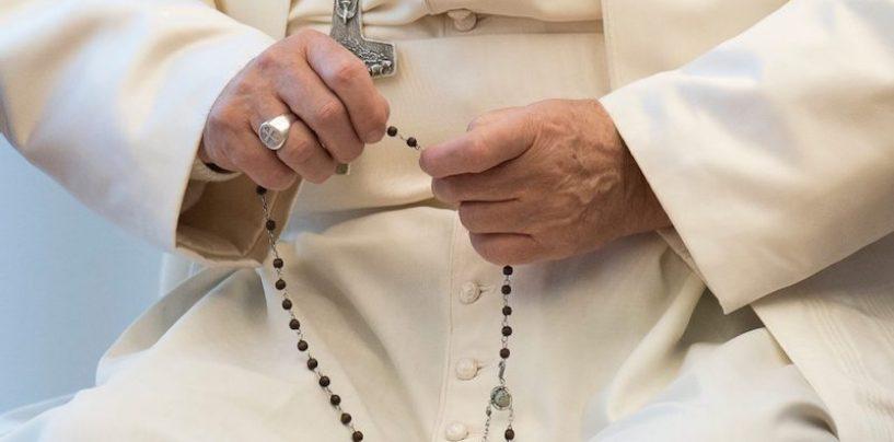 Recemos hoy el rosario con el Papa por el fin de la pandemia