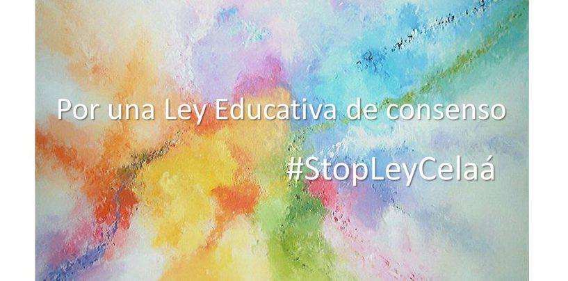 Manifestación digital y conjunta de la sociedad civil ante la nueva Ley de Educación