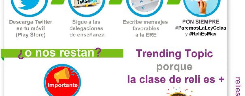La etiqueta #ParemosLaLeyCelaa consigue ser 'trending topic'