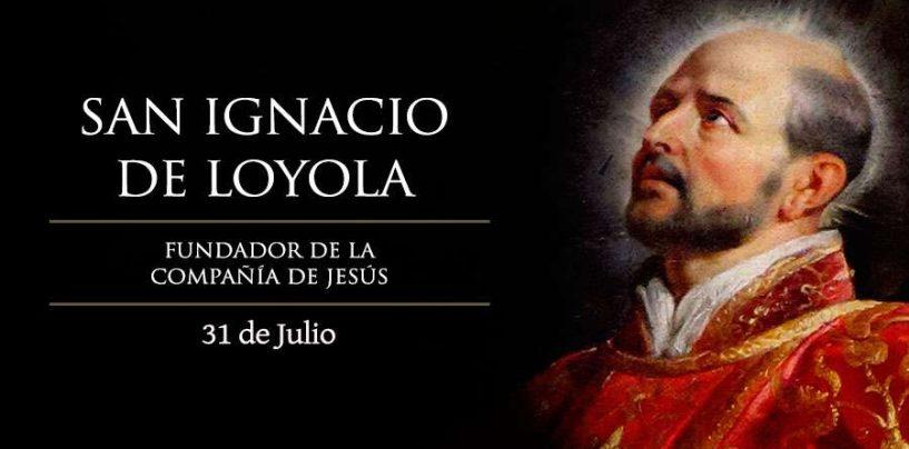 La comunidad ignaciana de Valladolid celebra hoy el día de San Ignacio de Loyola