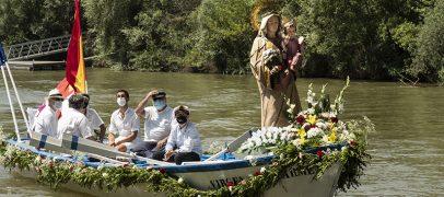 XXI Procesión Fluvial de la Virgen del Carmen por el Río Pisuerga