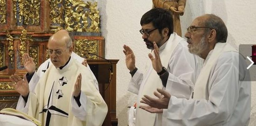 Olmedo despide al capellán de las dominicas