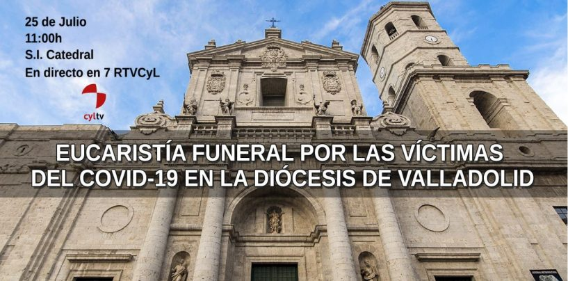 Misa Funeral en Valladolid por los Fallecidos el la pandemia del Covid-19
