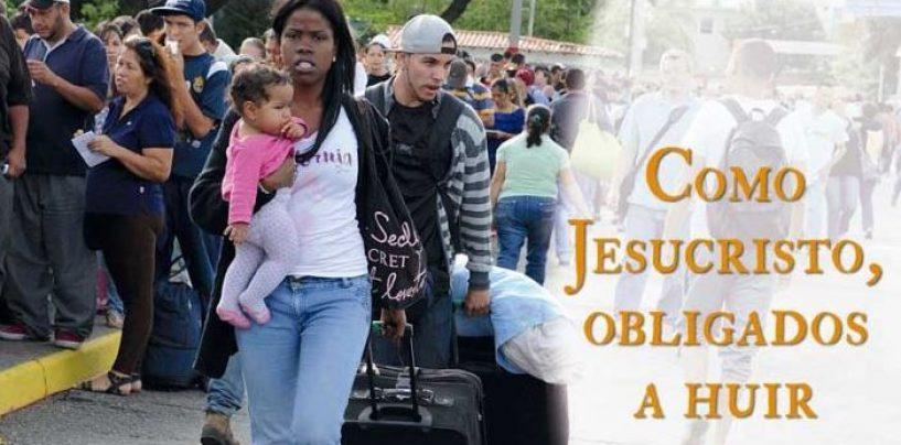 """""""Como Cristo, obligados a huir"""". Jornada del Migrante y Refugiado, 27 de septiembre"""