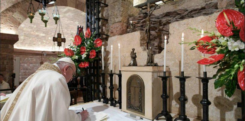 Francisco nos regala 'Fratelli tutti', una encíclica sobre la fraternidad y la amistad social