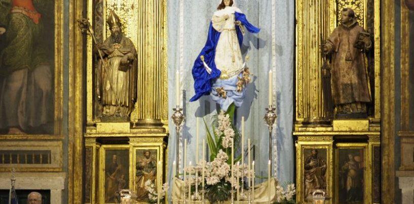 Continúan las novenas a la Inmaculada en Las Angustias y Santa Isabel de Hungría