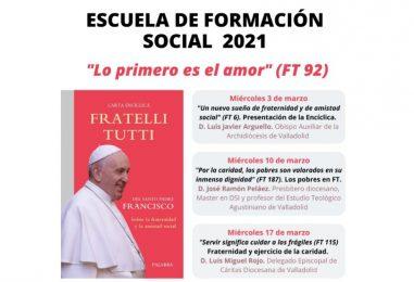 Escuela de Formación Social de Cáritas (3, 10 y 17 de marzo)