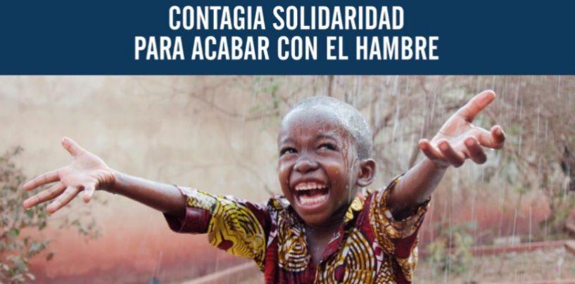 'Contagia solidaridad para acabar con el hambre'. Campaña de Manos Unidas
