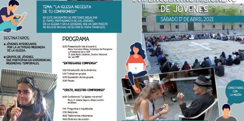 XVII Encuentro Misionero de Jóvenes (17 de abril)