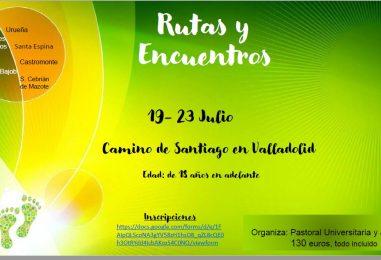 Camino de Santiago para jóvenes en Valladolid