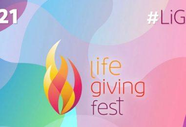 Del 27 de julio al 1 de agosto… Vive la 'Life giving fest'