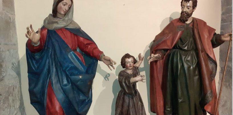 'El silencio del carpintero'. San José, en el Museo de San Francisco de Rioseco