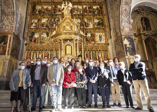 Restauración del presbiterio de la iglesia de San Miguel Arcángel de Pedrosa del Rey
